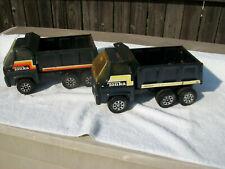 New Listing Tonka Metal Dump Trucks 1970's - 80's All Original Ready For Restoration 2 lot