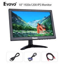 Eyoyo 10 1920x1200 Display Video Audio Vga Bnc Hdmi Ips Monitor For Laptop Pc
