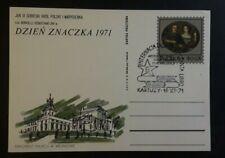 1971 Kartuzy Poland International Day Of Esperanto Books Illustrated Cover