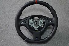 BMW MSport M-Tech MTechnic Mtech M-Technik E46 E38 E39 X53 Steering Wheel rewrap