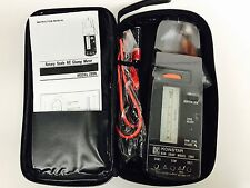 ROTARY SCALE AC ANALOG ANALOGUE CLAMP METER MODEL 2806 FUSE PROTECTED + POUCH