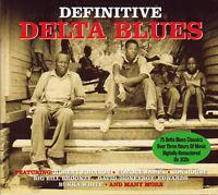 DEFINITIVE DELTA BLUES - 75 CLASSICS TRACKS (NEW SEALED 3CD)