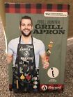 Camo Green Grill Hunter Apron with 12 Compartments New Unopened Box