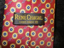 Rene Chagal Handmade Silk Tie