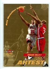 Ron Artest Ultra 2000-1 #32G Gold Medallion Basketball Card Chicago Bulls