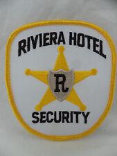 Riviera Hotel Casino Las Vegas Nevada Authentic Security Patch Unused New Closed
