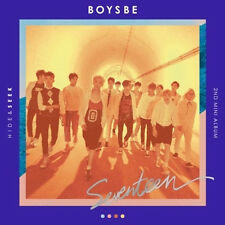 SEVENTEEN 2ND MINI [ BOYS BE - SEEK VER. ] PHOTO BOOK + PHOTO CARD + POST CARD