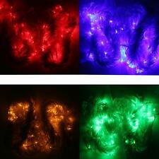3mX3m Water Flow String LED Waterfall Lights Wedding Party Decor Color
