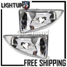 2000-2004 Ford Focus Left Right Sides Pair Driving Fog Lights Fog Lamps