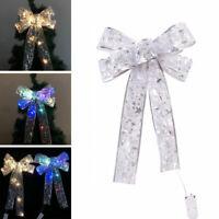 LED Große Schleifen Bowknot Weihnachtsbaum Für Weihnachten Holiday Home Dekor