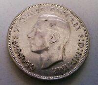 1943 AUSTRALIA .3363 OUNCE STERLING SILVER FLORIN COIN