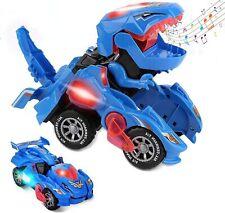 Transforming Dinosaur Toys, Transforming Dinosaur Car, Automatic Transform Dino
