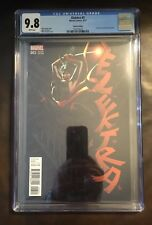Elektra issue #3 1:25 Mike Deodato Variant CGC 9.8 Brand New Case
