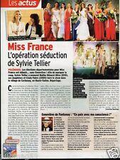 Coupure de Presse Clipping 2010 (1 page) Election Miss France Sylvie Tellier