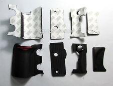 Original 4 PCS New Grip Rubber Unit Assembly For Nikon D200 + Adhesive Tape