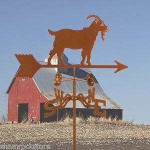 Goat Weathervane - Farm - Weather Vane - Complete w/ Choice of Mount