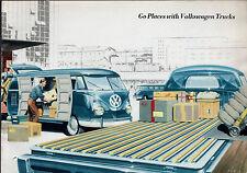 VOLKSWAGEN TRANSPORTER schermo diviso 1958-59 UK vendite sul mercato opuscolo