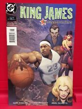 King James #1 A DC Comic Powerade Lebron The King Of Basketball  2004