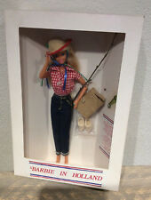 Barbie in Holland doll wearing Picnic set repro NRFB 1995 Dutch convention