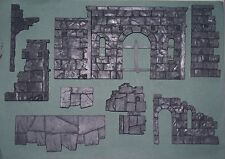 Games Workshop ruinas de Osgiliath-Sección de pasarela de ruinas (8 Piezas Set)