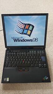IBM Thinkpad R31 Windows 98