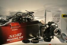 Sigma SD 10 Digitalspiegelreflexkamera mit Objektiv 18-125mm (SN:2010425)(60)