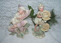 Fairy Elf Figurines Set of Two