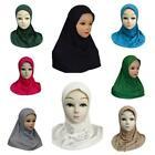 Girls Hijab Head Scarf Burqa Scarves Cotton Burka Pray Muslim Mosque Kids Islam