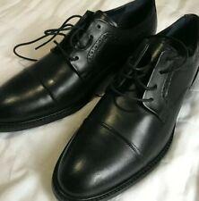 Cole Haan Buckland Cap Toe Oxfords Black Leather Lace Up Dress Shoes Mens 10 M