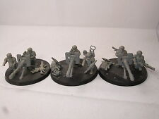 3/Astra Militarum Imperial Guard Cadian Autocannon equipos Warhammer 40,000 40k