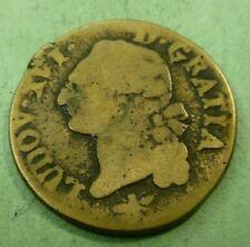 1791 France Kingdom 1 Sol Louis XVI coin LUDOV·XVI· - D·GRATIA