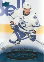 2015-16 Upper Deck Overtime Blue #75 Nikita Kucherov Tampa Bay Lightning