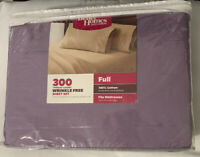 Better Homes & Gardens 300 Thread Count 4 Piece Bed Sheet Collection - FULL SIZE