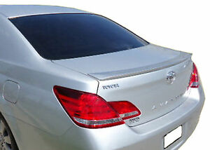 UNPAINTED PRIMED TOYOTA AVALON LIP FACTORY STYLE REAR WING SPOILER 2005-2010