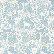 Studio G Westonbirt Wildlife Design in Blue Curtain Upholstery Craft Fabric