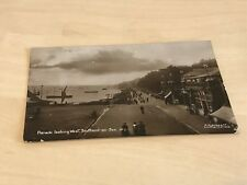 1915 Judd & Co Real Postcard Parade Looking West Southend on Sea