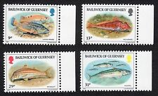 Guernsey: Fishes; complete unmounted mint (MNH) set