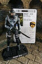 Action force/Gi Joe Rise of Cobra Deep Six