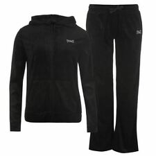 Velour Regular Size Tracksuits for Women with Pockets