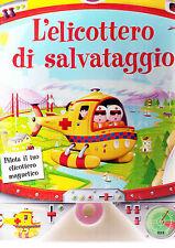 L'elicottero di salvataggio. Libro interattivo -Salani Ed.- nuovo in offerta!