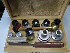 Bergeon set of accessories for hand dial printing press used