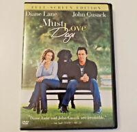 Must Love Dogs DVD 2005 Full Frame Diane Lane John Cusack