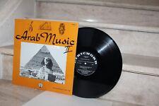 LP Arab music volume 2  (lyrichord LL198)