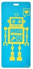 MERRITHEW Kids Yoga and Exercise Mat, Pixel the Robot (Aqua) 0.15 inch