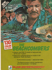 Bruno Gerussi The Beachcombers 1985 Ad- a phenomenal success/Blair Entertainment