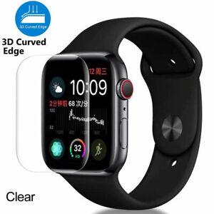 Vitre film protection verre trempé 3D total pour Apple watch 5 4 3 38/40/42/44mm