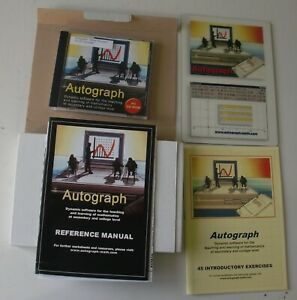 Autograph (PC) v2.00 CD Rom -for Teaching/Learning Maths at Secondary or College