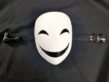 White Smiling Clown Cosplay Costume Masquerade Halloween Prop