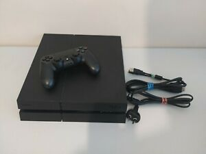 Sony PS4 PlayStation 4 Black 1TB Console + Controller