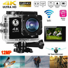 4k 2'' Ultra HD 1080p Sports Camera DV WiFi Cam Action Video Recorder Waterproof